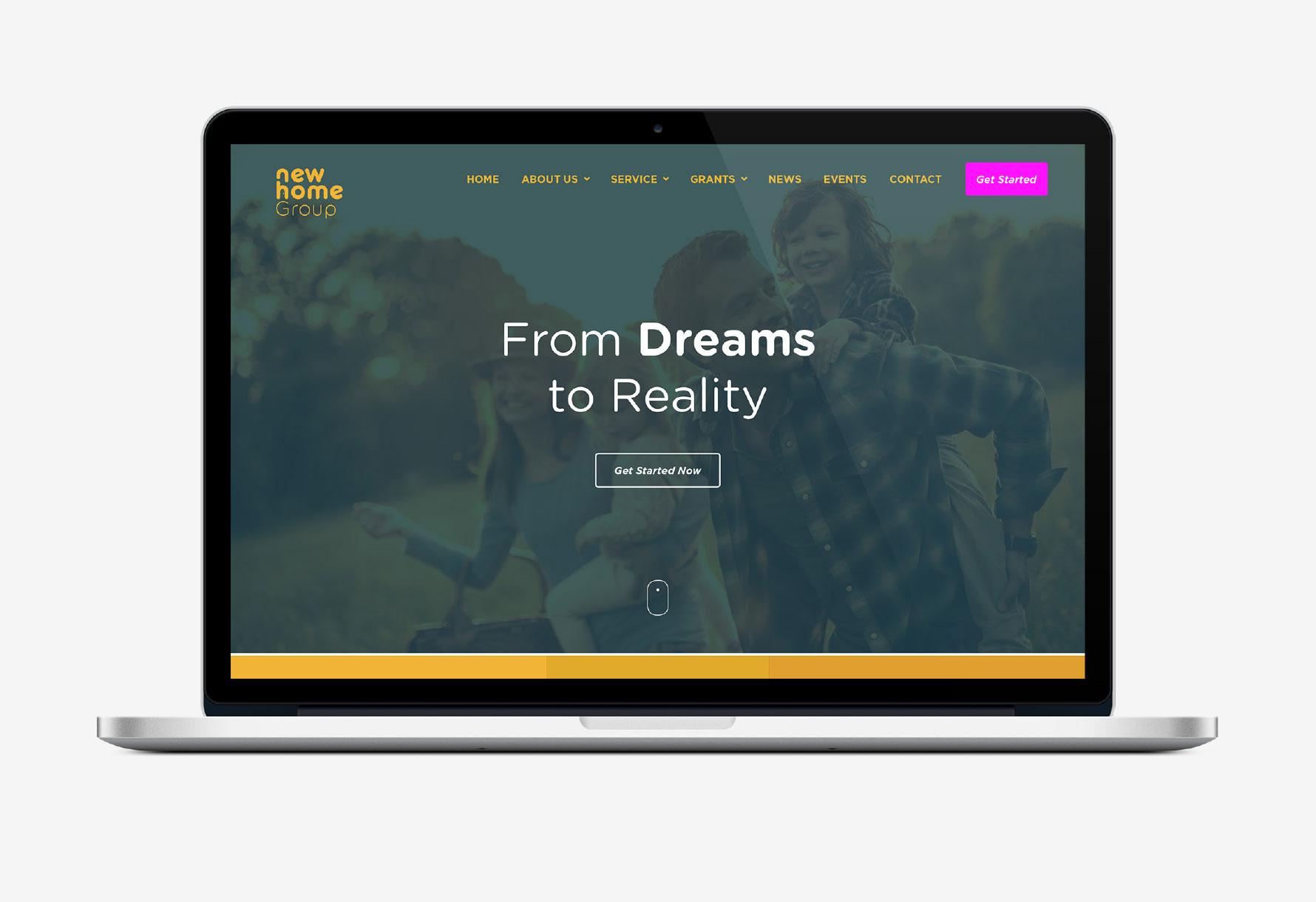 New Home Group Website Portfolio 2
