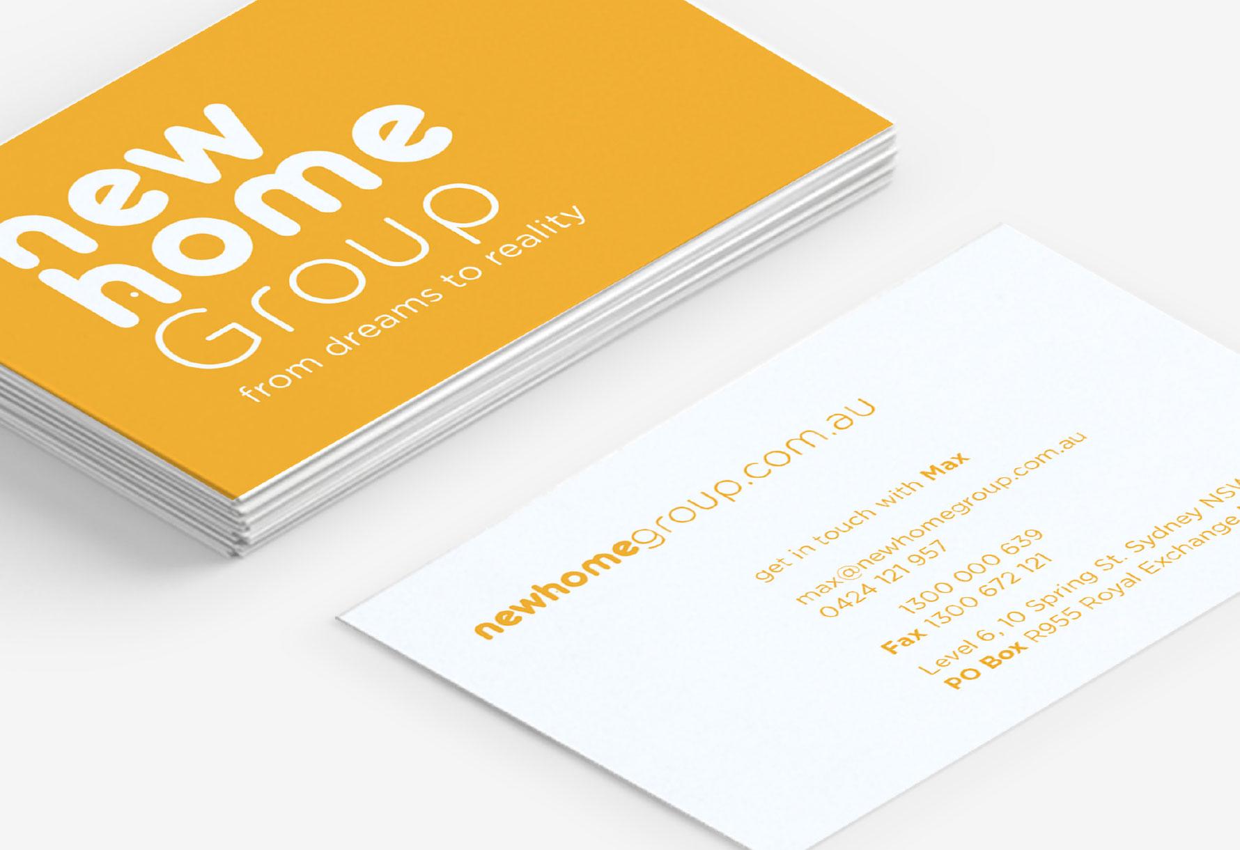 New Home Group Website Portfolio 4