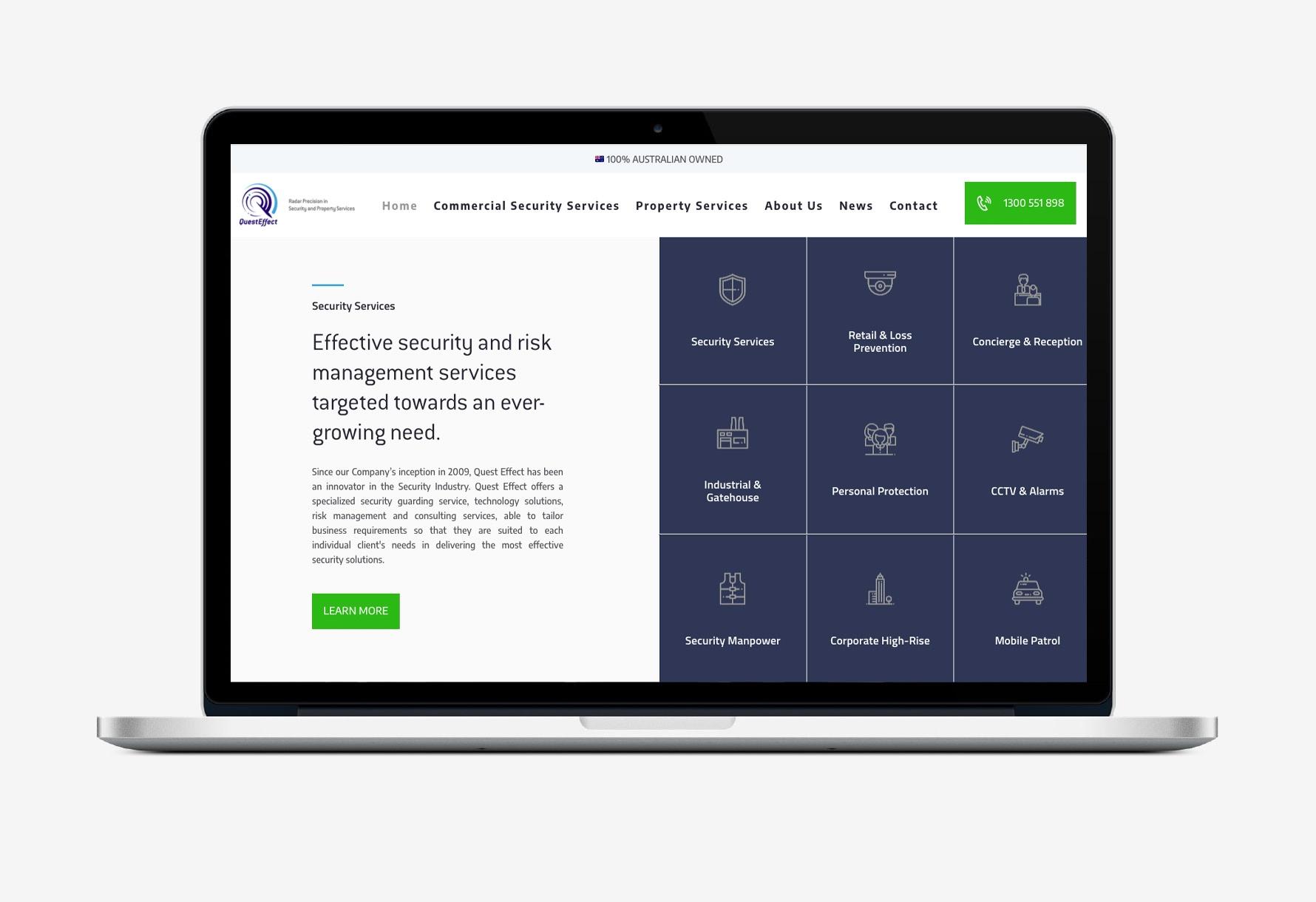 QE Website Portfolio 1